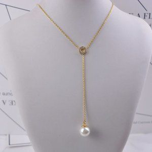 Kate Spade Pearl Y|shaped Necklace